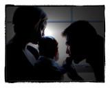 Rachel & Sean with Declan
