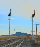 Levy, NM-The semaphore signals.