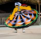 Traditional Tanoura dancer
