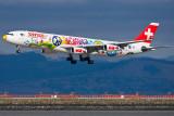 Swiss International Air Lines Airbus A340-313X San Francisco HB-JMJ
