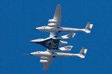 Virgin Galactic SpaceShipTwo (N339SS) and the White Knight Two (N348MS)