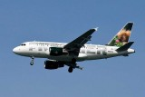 Frontier Airlines Airbus A318-111 Spike the Porcupine N809FR