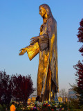 Statue of Blessed Virgind Mary at Our Lady of Peace Roman Catholic Church Santa Clara CA.jpg
