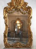 Carolyn taking picrure in a Topkapi  Harem  mirror.jpg