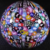 Jumbo Murrini Sphere Size: 3.26 Price: SOLD