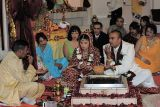 Ceremony in the temple