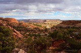 Leaving the Upheaval Dome Trail