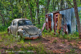 VW and Old Gas Pumps