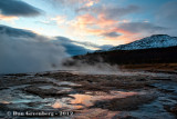 Waiting for Strokkur to Erupt