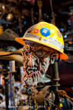 A Scary Mask and a Hard Hat