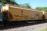 CNW Covered Hopper
