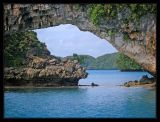 Rock Island Arch in Palau