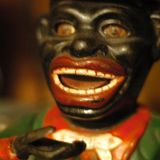 Open Wide! - The Jolly Nigger Money Box accepts coins