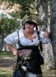 Happy Pirate Lady