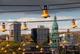Vue de Montréal du marché Atwater