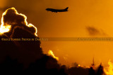 2012 - Virgin Atlantic B747-4Q8 G-VFAB airline aviation sunset stock photo #2442W