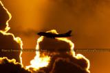 2012 - Virgin Atlantic B747-4Q8 G-VFAB airline aviation sunset stock photo #2443