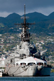 2010 - the U. S. Navy battleship USS MISSOURI (BB 63) at Ford Island, Honolulu
