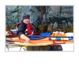 Kayaking in the Johnstone Straight