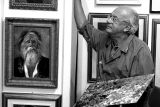 Salvatore Federico. Capri's famous painter.