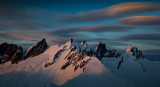 Lenticular Clouds And The Southern Picket Range <br> (Pickets_021513_131-6.jpg)*