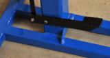 Foot pedal to raise motor 1 (to change belt speeds)