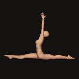 BB-Yoga: Monkey Pose