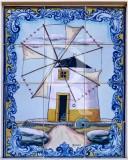 Um Moinho em Azulejos