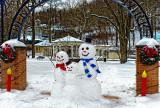Berkeley Springs West Virginia in Winter