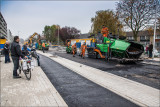 Asfalteren 2e Deel Willem van Duvenvoordestraat gestart!