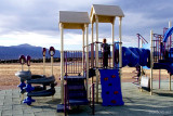November 2012 - Kyler on the playground at Peterson Air Force Base, Colorado