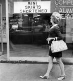 Mini Skirt shortening services