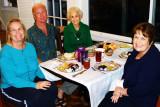 February 2013 - Wendy, Jim, Esther and Karen at dinner