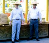 1988 - forgotten name and YNC Don Boyd in Chinatown