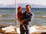 1984 - Brenda's son Justin Cary Reiter and Don Boyd at Lake Tahoe
