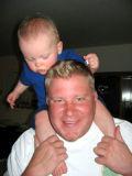 2006 - Kyler and his dad Steve Kramer