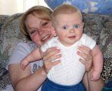 2005 - Kyler Kramer and his mom Karen D. Boyd on her 29th birthday
