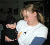 2005 - Kyler M. Kramer and Karen on Halloween