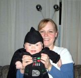 2005 - Kyler M. Kramer and his mom Karen D. Boyd on Halloween