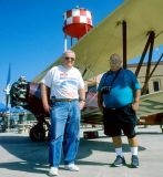 2002 - Phil Perry and Eddy Gual at Fantasy of Flight Museum