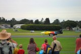 HAWKER HUNTER JET LANDING