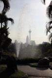 Kuala Lumpur from Lake Garden