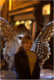 Posing With The Ice Wings