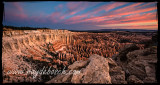 Sunrise at The Ampitheatre - Bryce Canyon National Park, UT