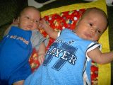 THE BOYS AT ONE MONTH