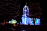 Light Display at Upper Canada Village