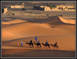 the sand dunes of Erg Chebbi (for my dad)