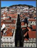 Baixa and Castelo de Sao Jorge view