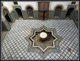 the old palace's harem courtyard