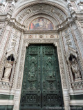 main entrance to the Cattedrale di Santa Maria del Fiore